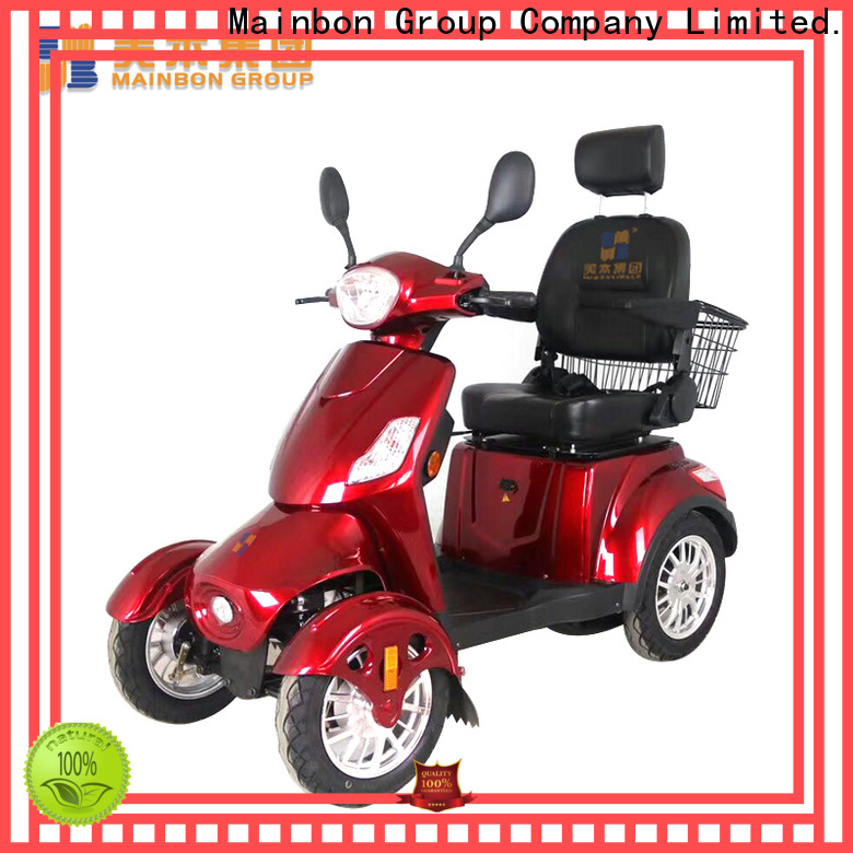 Mainbon rechargeable mobility scooters for sale company for kids