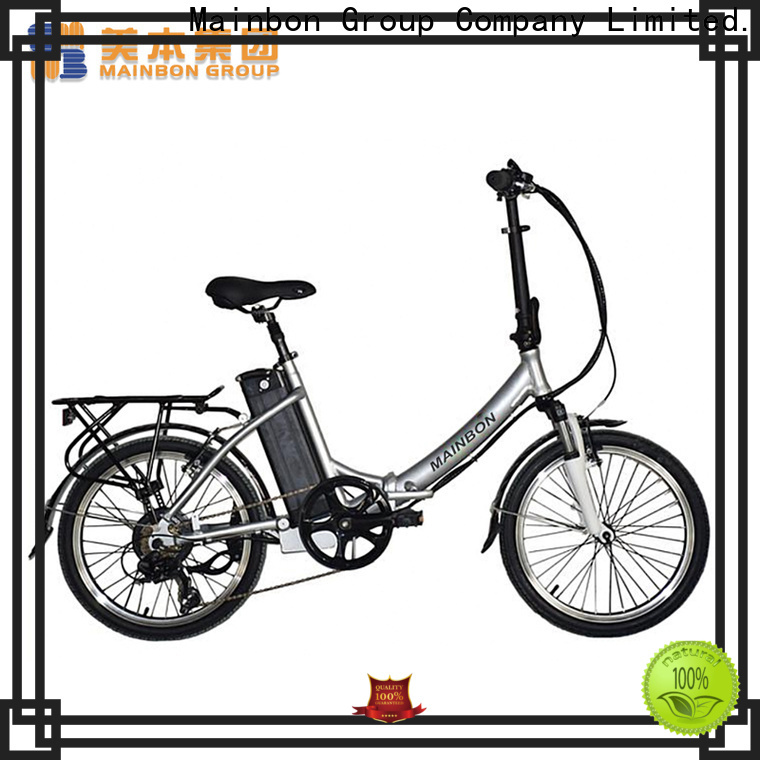 Mainbon electric power bike electric bikes suppliers for kids