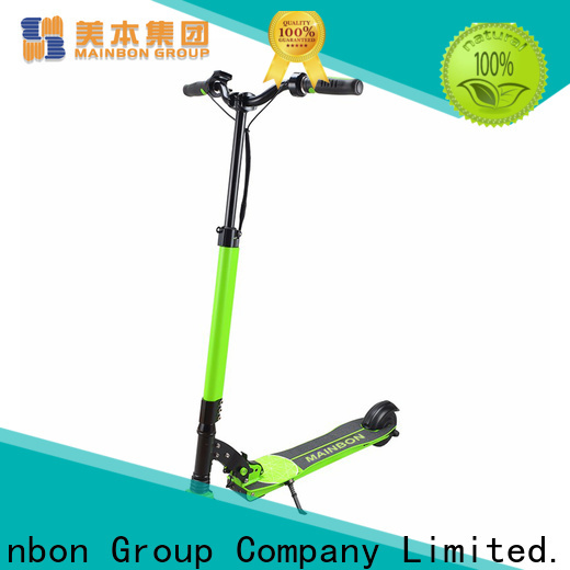 Mainbon Latest toddler battery powered scooter factory for adults