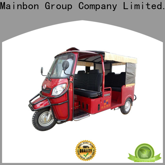 Mainbon electric diesel tricycle for business for senior