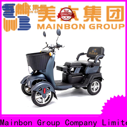 Mainbon rechargeable childs electric scooter with seat factory for women
