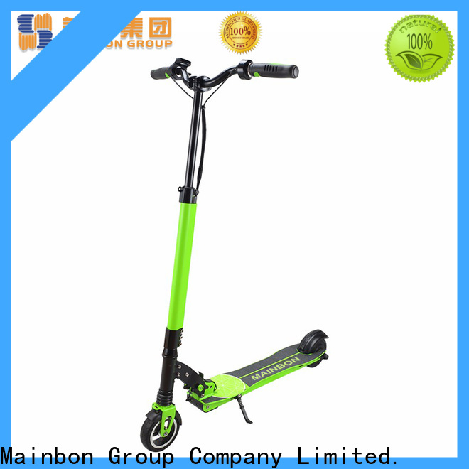 Mainbon Latest good deals on electric scooters company for kids