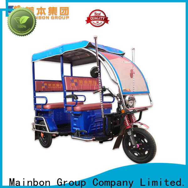 Mainbon Latest 3 wheel electric bicycle for adults company for senior