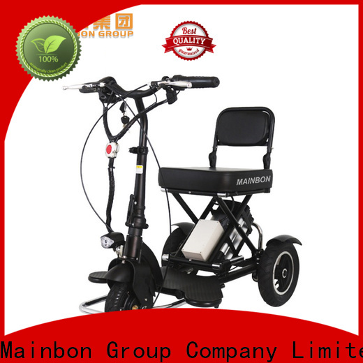 Mainbon electric motorised 3 wheel bike supply for senior