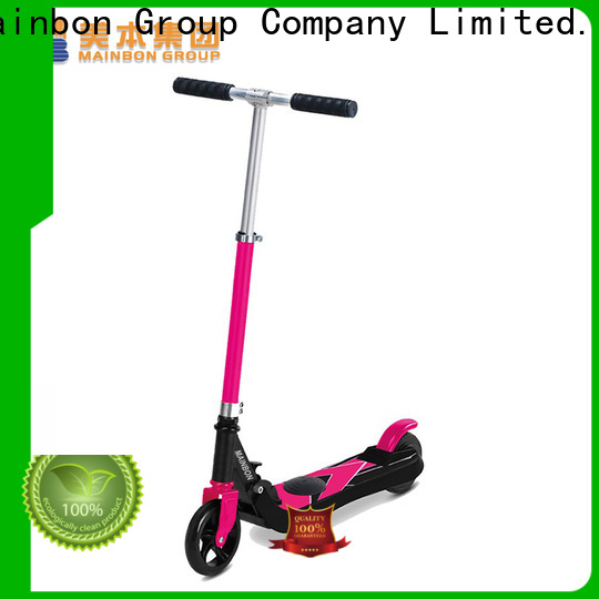 Mainbon Best battery powered scooter for kids supply for adults
