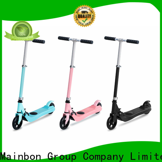 Mainbon motorized good deals on electric scooters company for kids