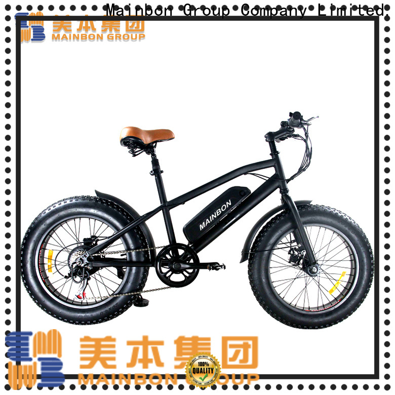 Mainbon Custom low price electric bike suppliers for ladies
