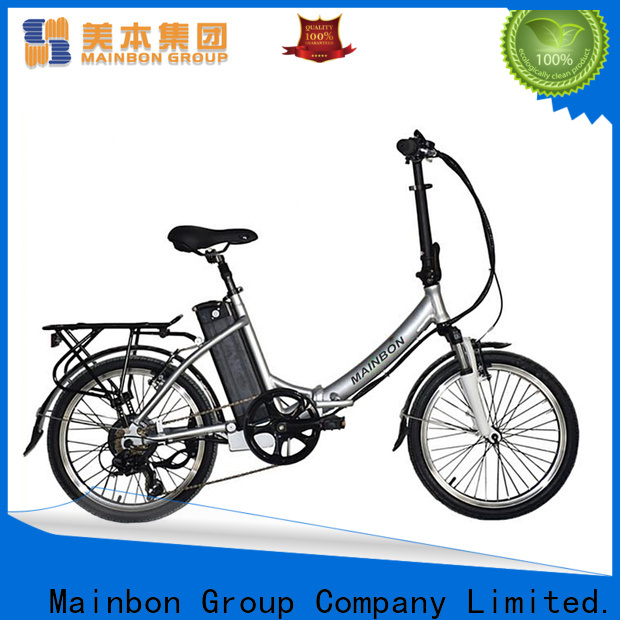 Mainbon Top best new electric bikes for business for ladies