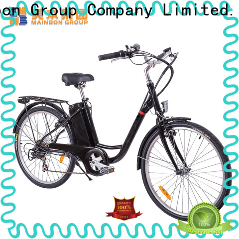 Mainbon Latest lightweight electric bicycle company for kids