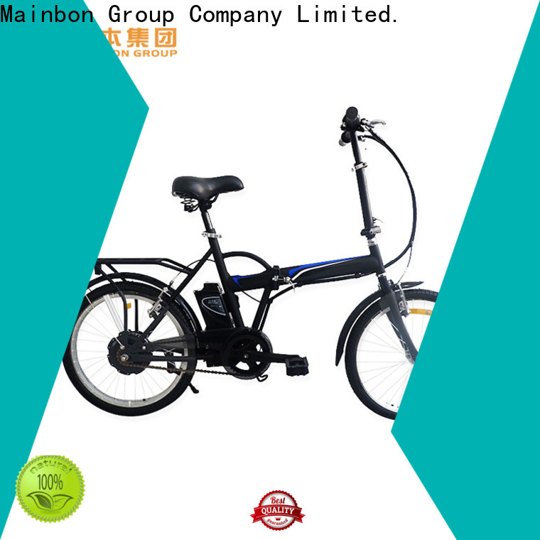 Mainbon Top battery driven bicycle suppliers for ladies