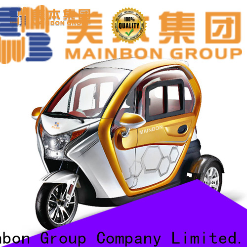Mainbon Custom electric powered adult tricycle for business for kids