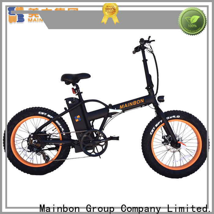 Mainbon model cool motorized bikes for business for ladies
