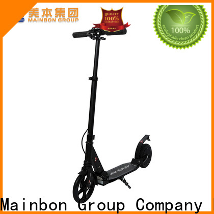 Mainbon motorized brand new electric scooter suppliers for men