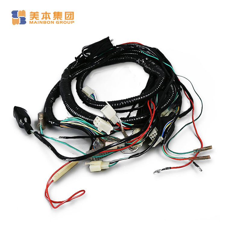 Motorcycle Safety Accessories Cg125 Motorcycle Parts Complete Wire Harness