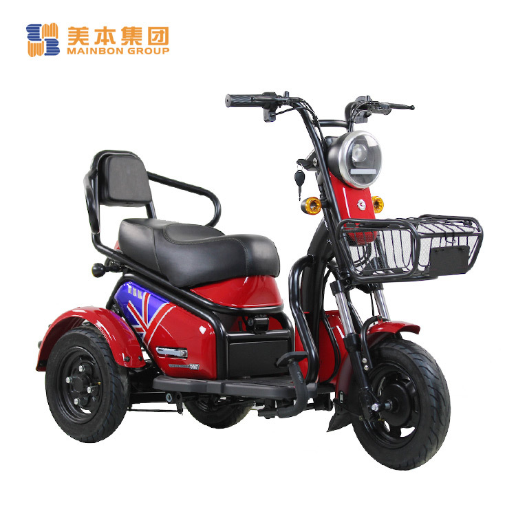 New Electric Tricycle for Passenger Elderly People and Kids