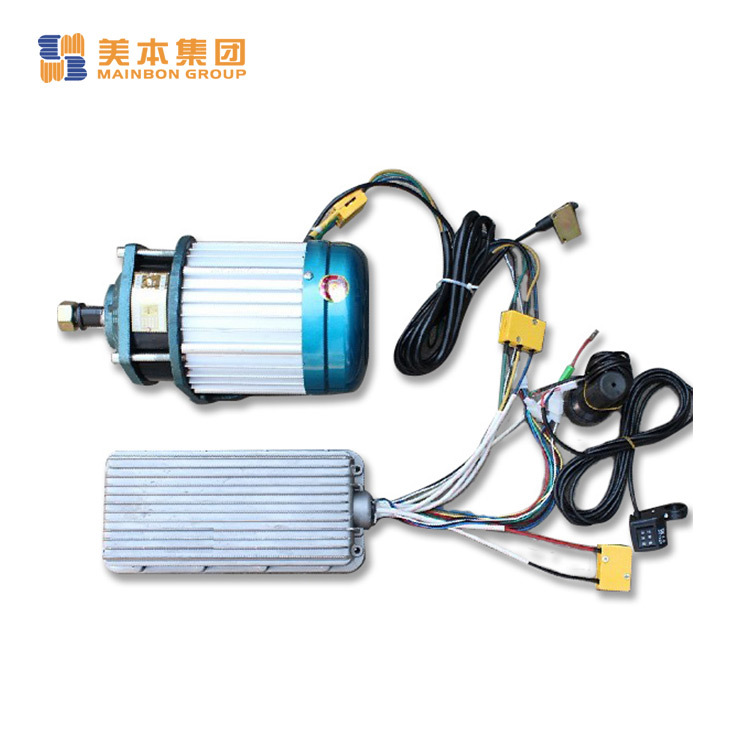 Tricycle Bike Parts Magnet Brushless Motor Set