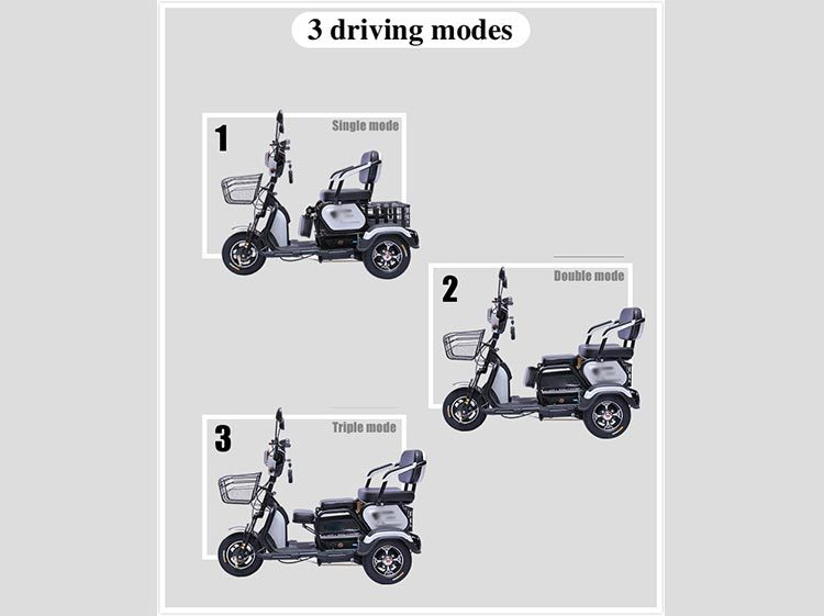 Electric City Tricycle and Easy Trike