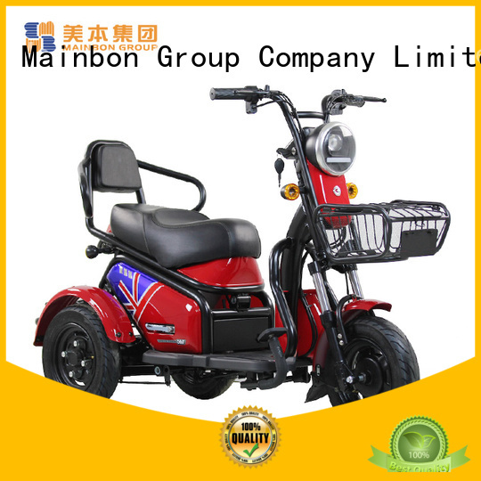 Mainbon Wholesale folding adult tricycle supply for adults