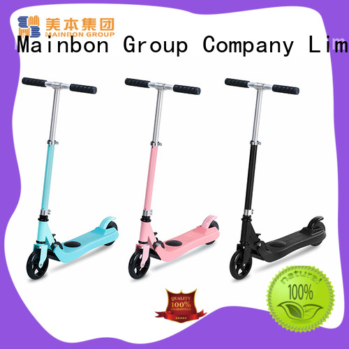 Mainbon adults electric scooter for five year olds company for kids