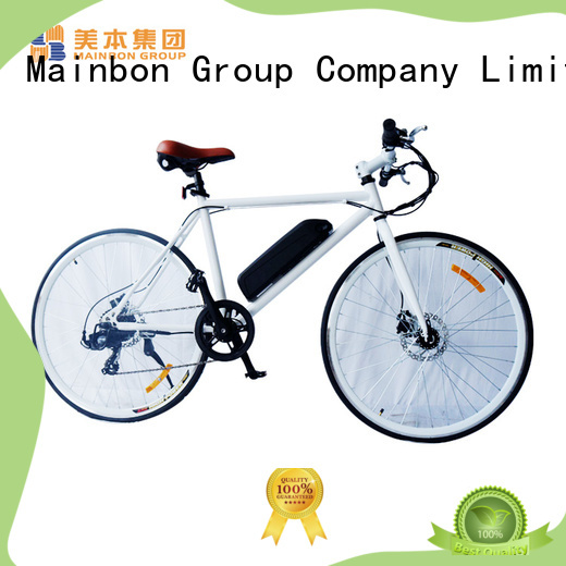Mainbon cool folding electric bike for sale company for rent