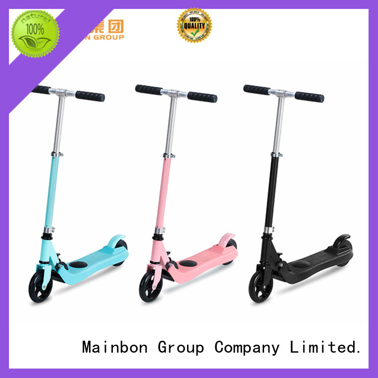 Mainbon Top motorized electric scooter for adults for business for kids