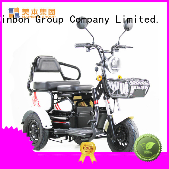 Mainbon Wholesale 3 wheel tricycle with motor factory for adults