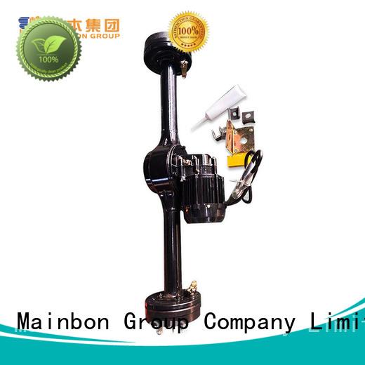 Mainbon motor three wheel bicycle parts factory for adults