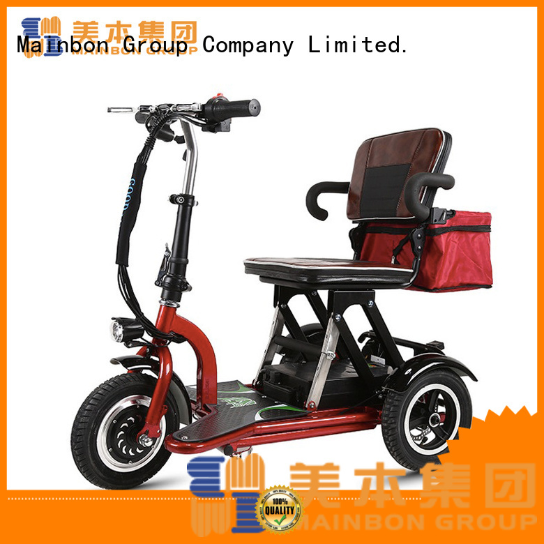 Mainbon s2 3 wheel electric bicycle for adults supply for men