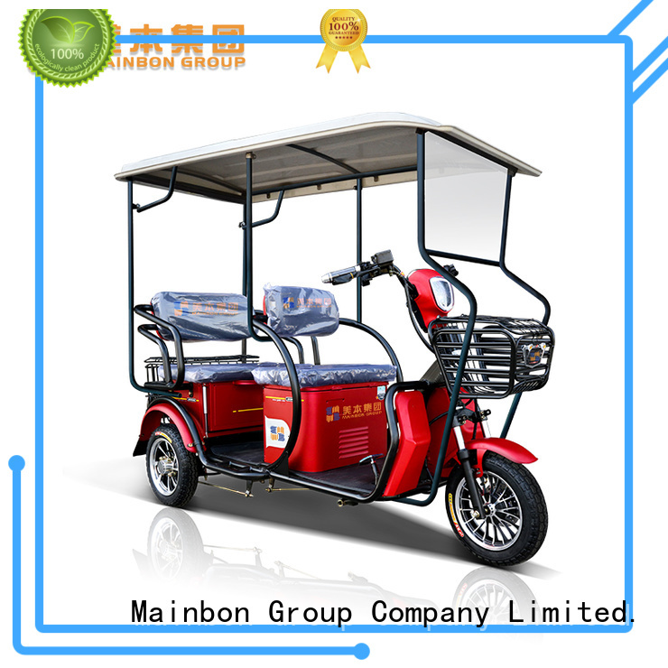 Mainbon s2 folding adult tricycle for business for men
