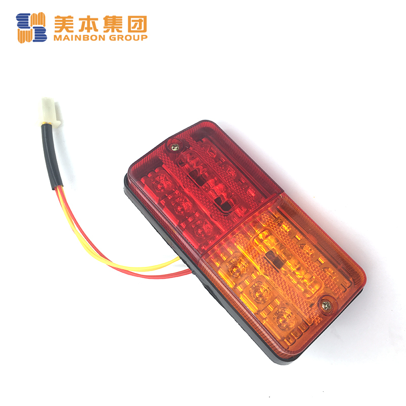 Tricycle Spare Parts E- Rickshaw Two-color Tail Light