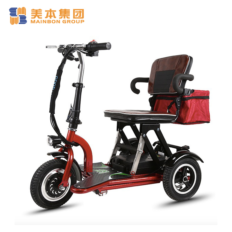 250w Three Wheel Electric Tricycle Foldable Mobility Scooter for Elderly or Disabled