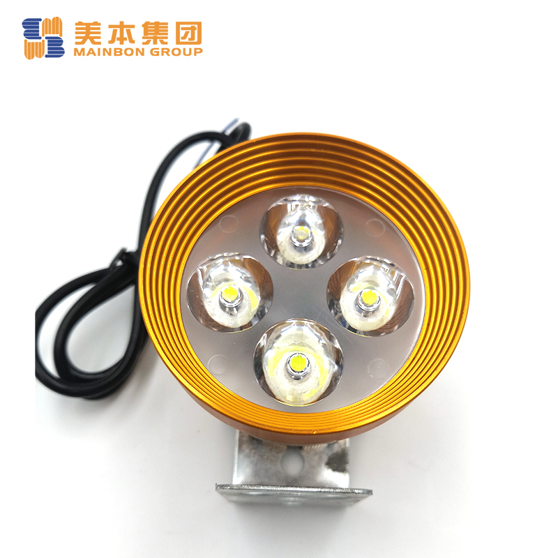 Tricycle Bike Parts Led Headlight with Snow-melt and Anti-icing Function