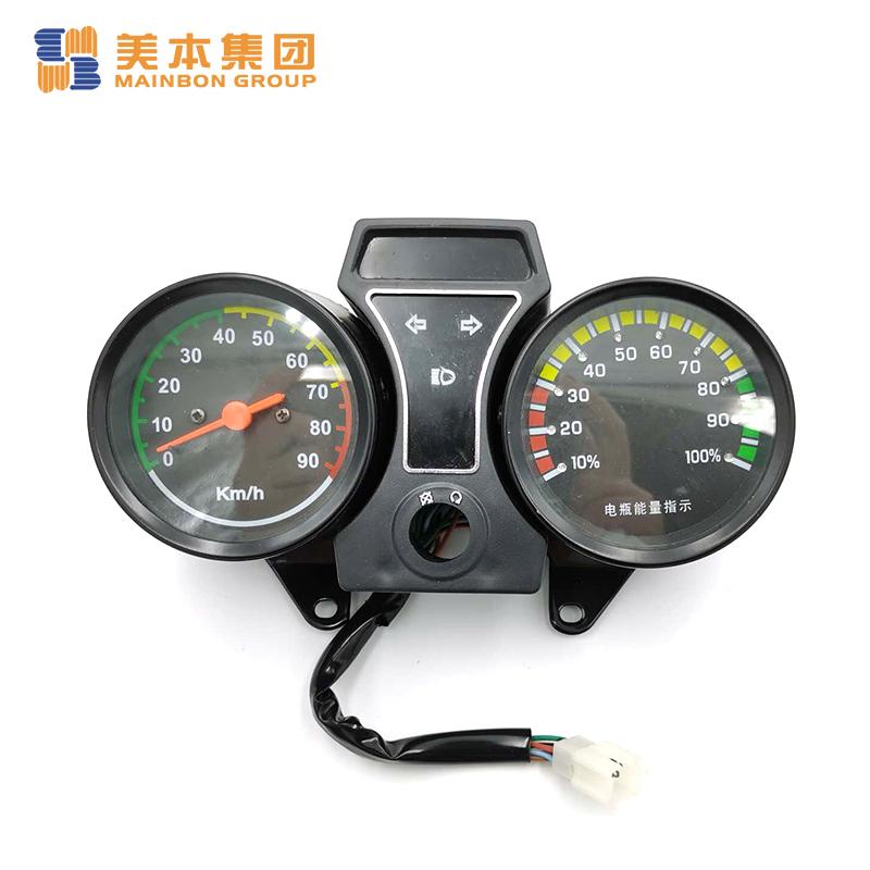 Motorcycle Electric Tricycle Parts Speed Digital Meter Indicator