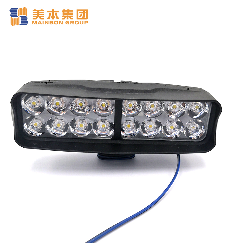 Electric Tricycle Kit Double Head Model Ledlight