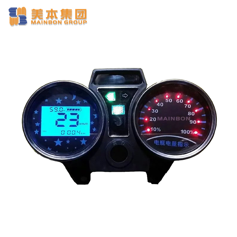 Tricycle Spare Parts Digital Led Speed Meter Indicator Supplier