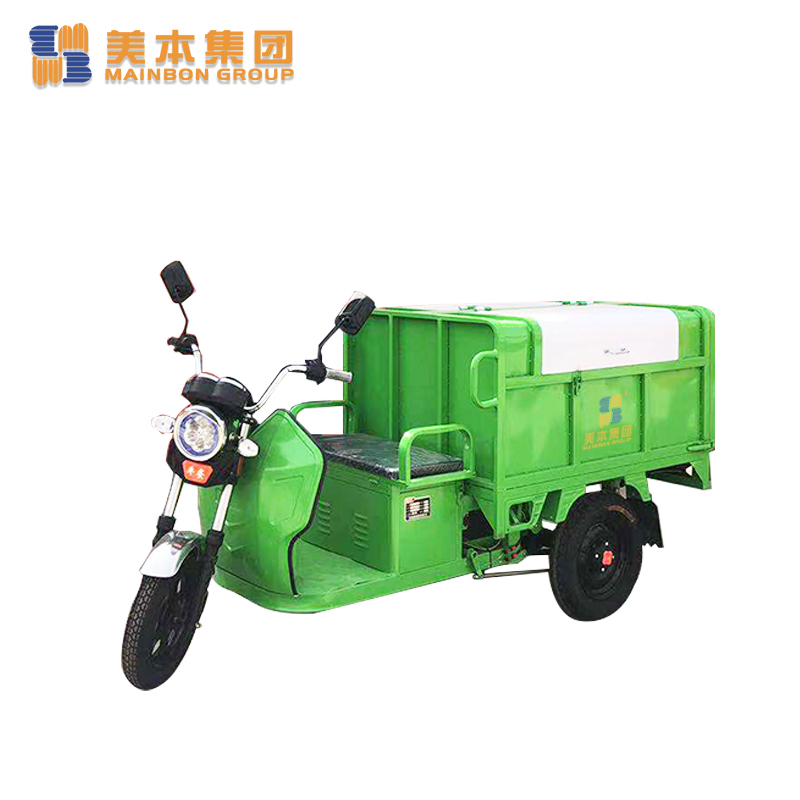 New Electric Tricycle For Outdoor Street Cleaning Trash Tricycle 800l