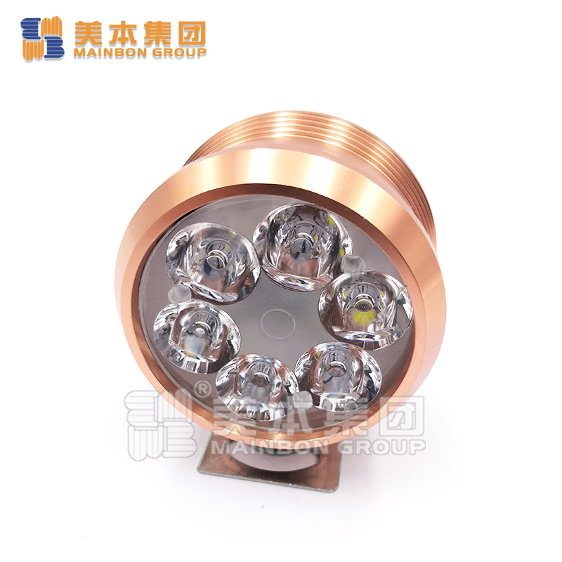 Electric Tricycle Parts Super Bright  Aluminum Alloy Tricycle Headlight