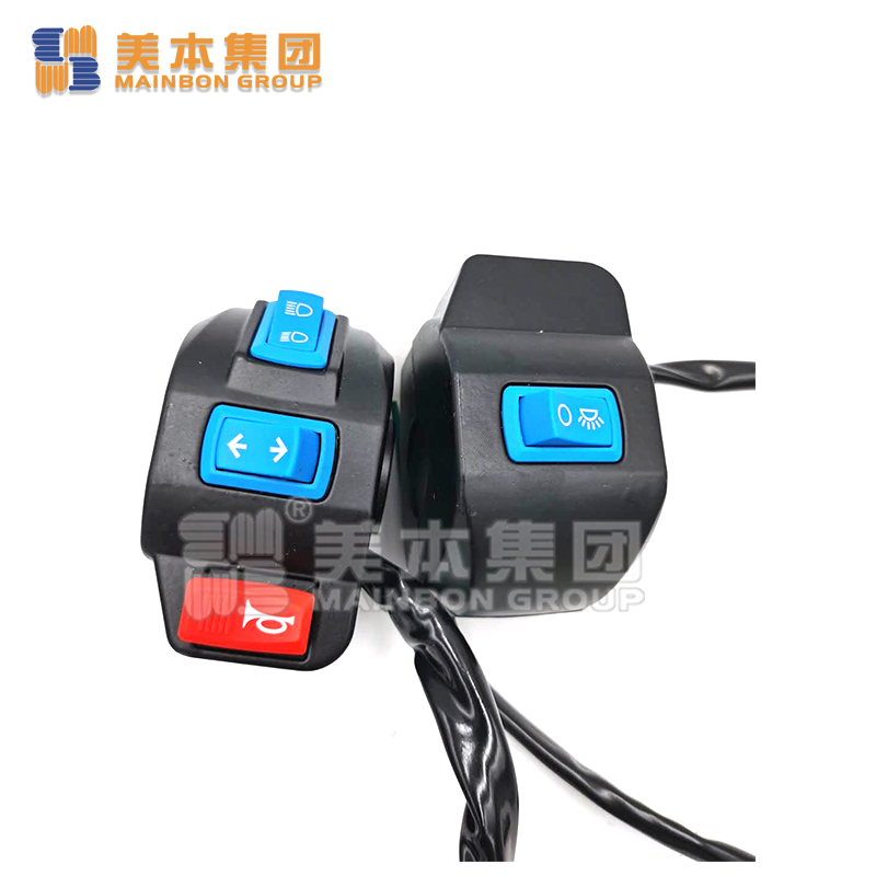 Electric Tricycle Parts Right and Left Push Handle Switch