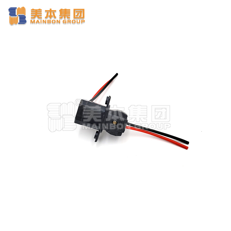 Electric Tricycle Parts Big Socket Black Color for Charger
