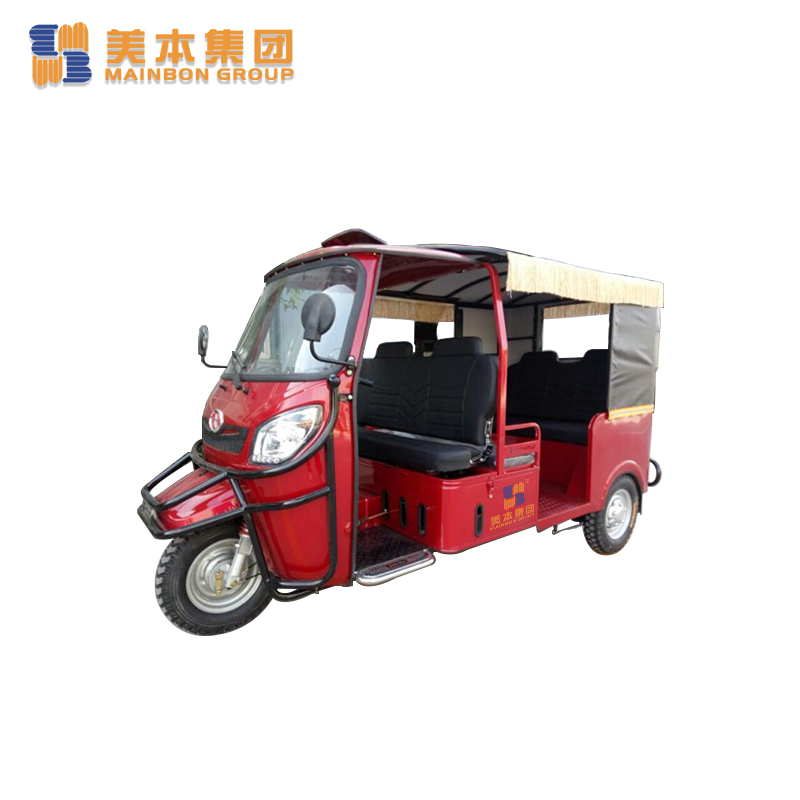 Petrol Engine Three Wheel Gasoline Tricycle Taxi Tricycle