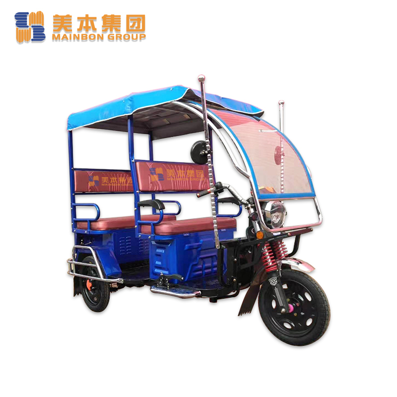 Electric Powered Trike Electric Passenger Tricycle for Asian Market