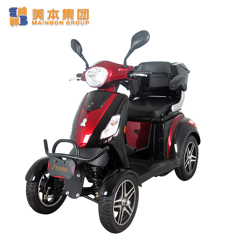 Rechargeable Electric Scooter 4 Wheel Electric Mobility Scooter