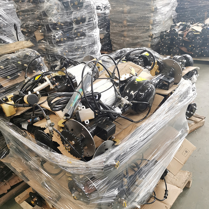 Electric Tricycle Bike Parts Assembly Complete Disc Brake