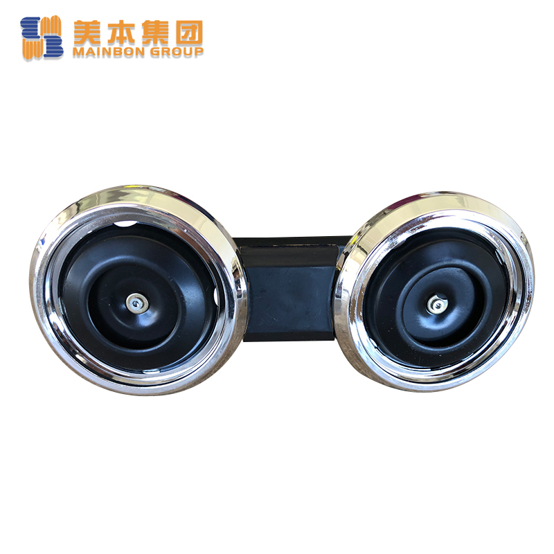 Custom Best Electric Tricycle Parts Black Double Horn Wholesale Supplier