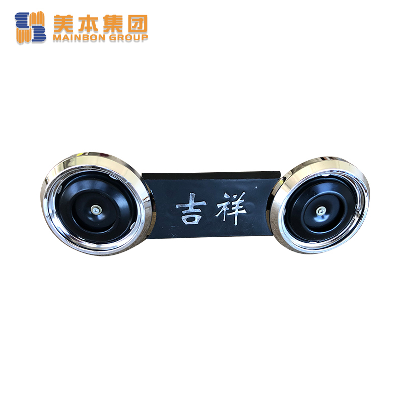 Custom Electric Tricycle Parts Double Horn with Auspiciousness Printing