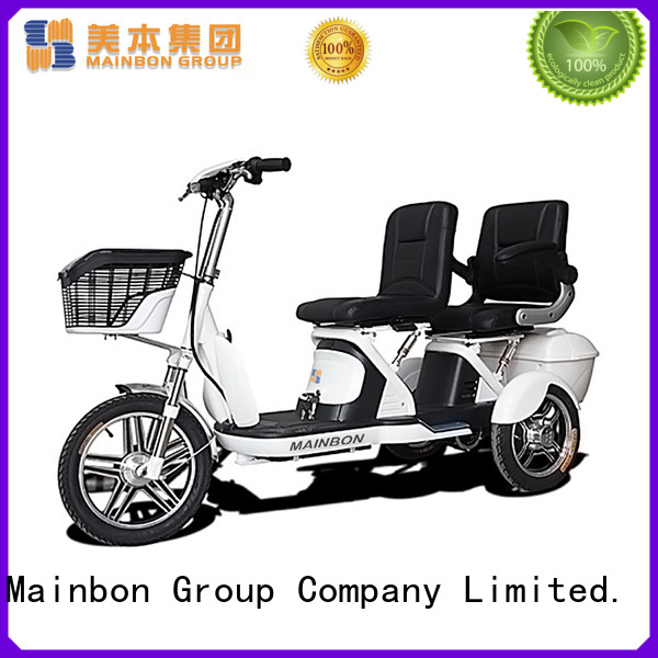 Mainbon battery electric tricycle scooter company for adults