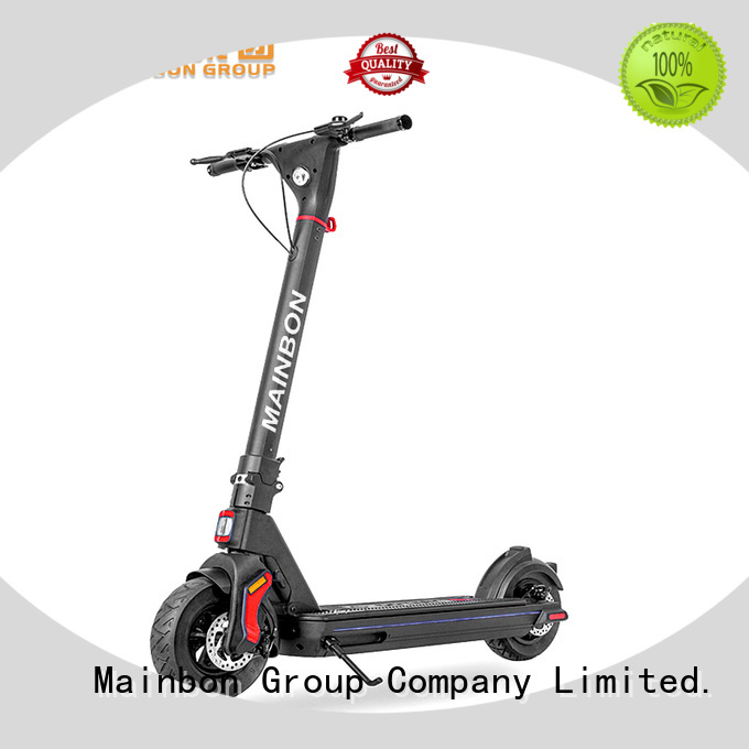 Mainbon rechargeable electric scooter for tweens company for men