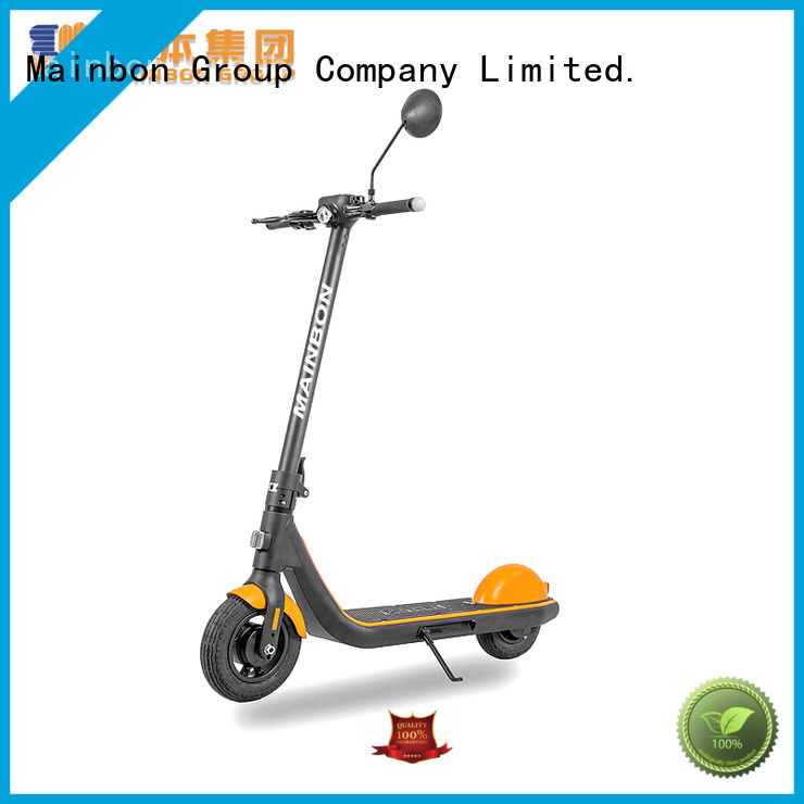 Mainbon rechargeable extreme electric scooter factory for kids