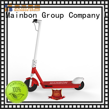 Mainbon motorized low cost electric scooter factory for women