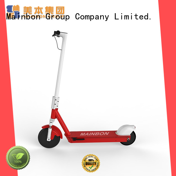 Mainbon motorized big electric scooter factory for kids